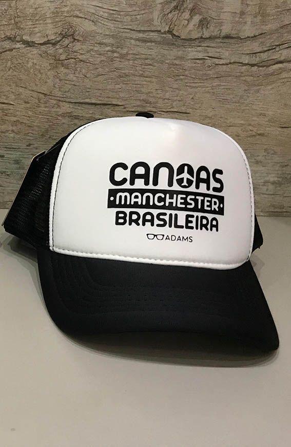 Boné trucker personalizado Rodrigo Adams - Canoas Manchester Brasileira
