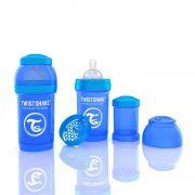 Mamadeira Anti-Cólica 180ml Azul - Twistshake