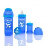 Mamadeira Anti-Cólica 260ml Azul - Twistshake
