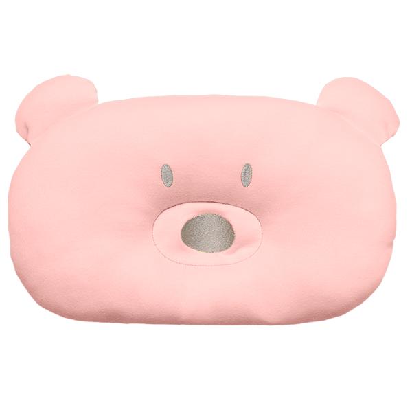 Travesseiro/Almofada para Bebê Urso - Rosa