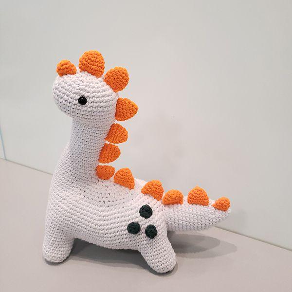 KIT Dinossauro amigurumi | crochê | Brutus+Wilson+Galdino ... | 600x600