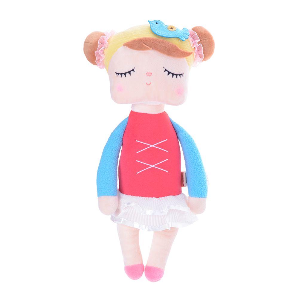 Boneca Metoo Angela - Bailarina Vermelha - 33cm