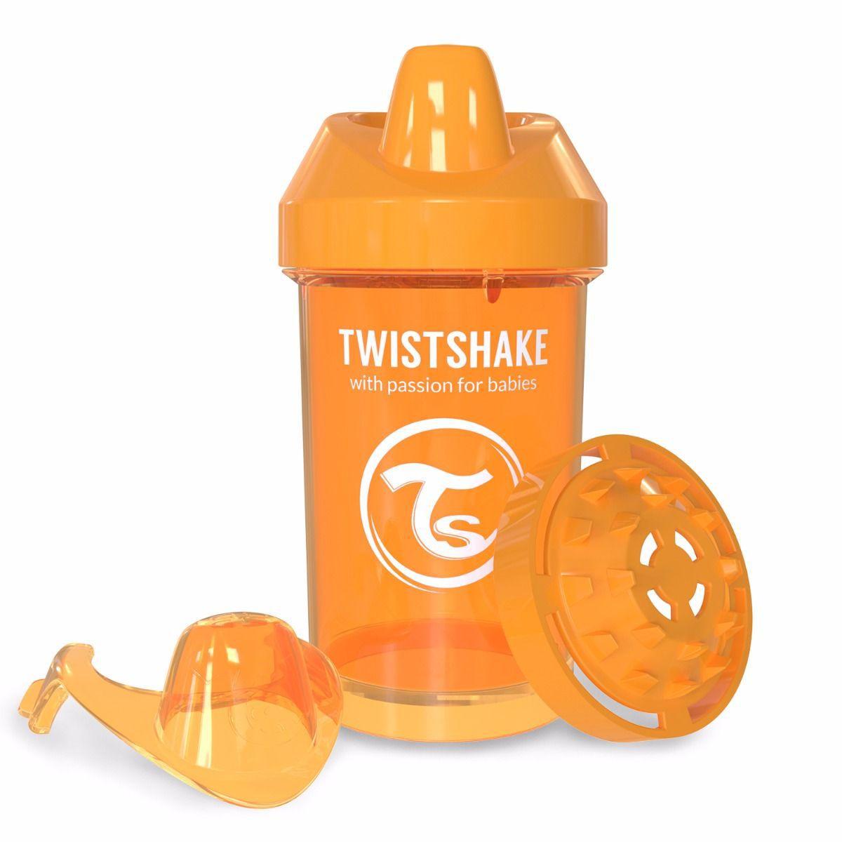 Copo de Treinamento 300ml - Laranja - Twistshake