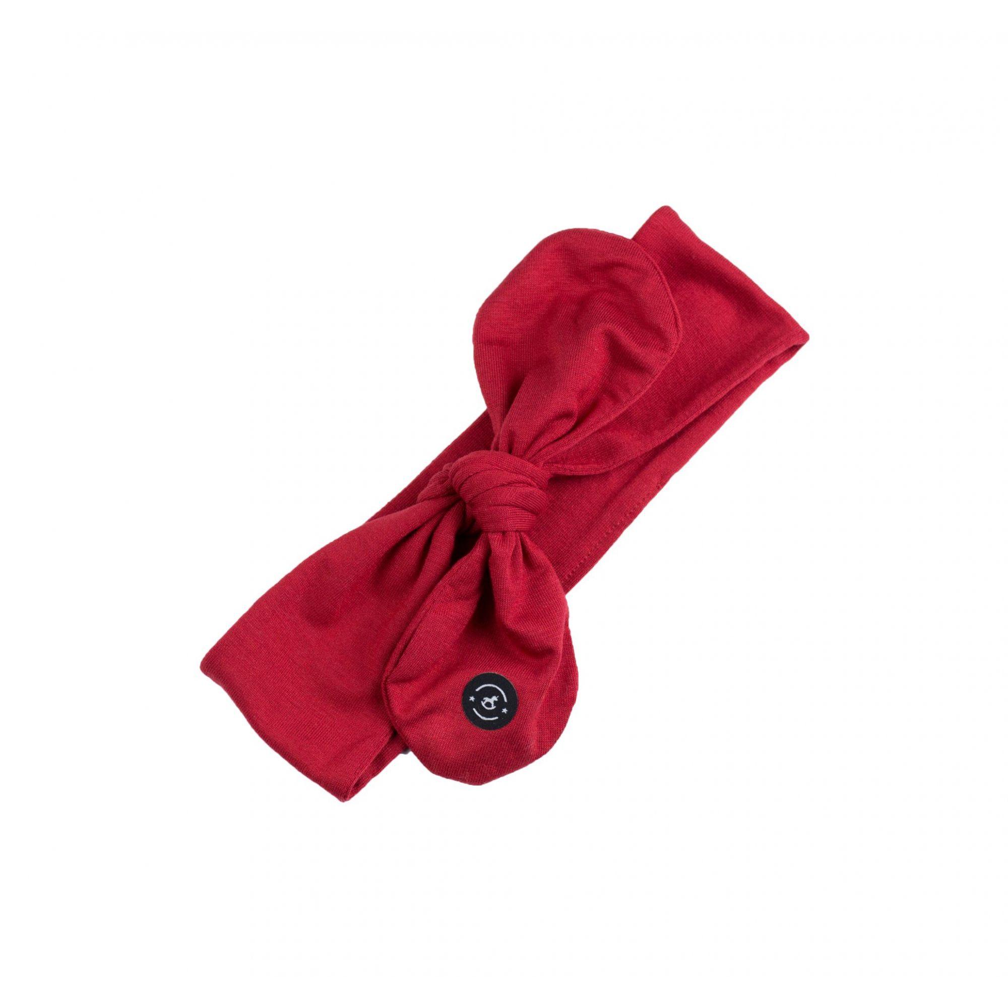 Faixa Knot Betty (Vermelha) - Penka & Co.