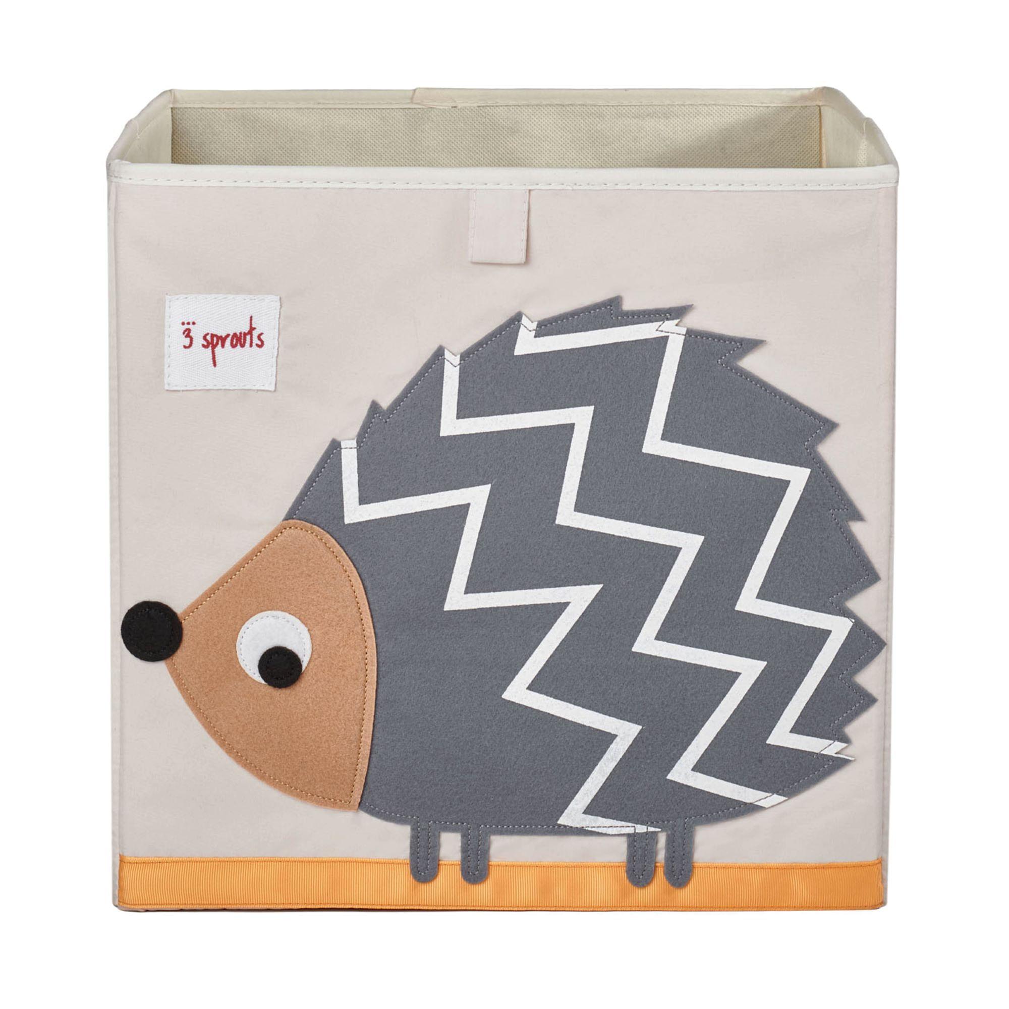 Organizador Infantil Quadrado - Porco Espinho - 3 Sprouts