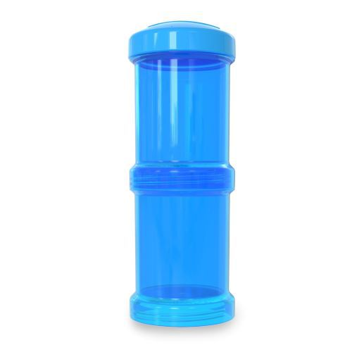 Pote para Leite em Pó - Container Duplo 100ml Azul - Twistshake