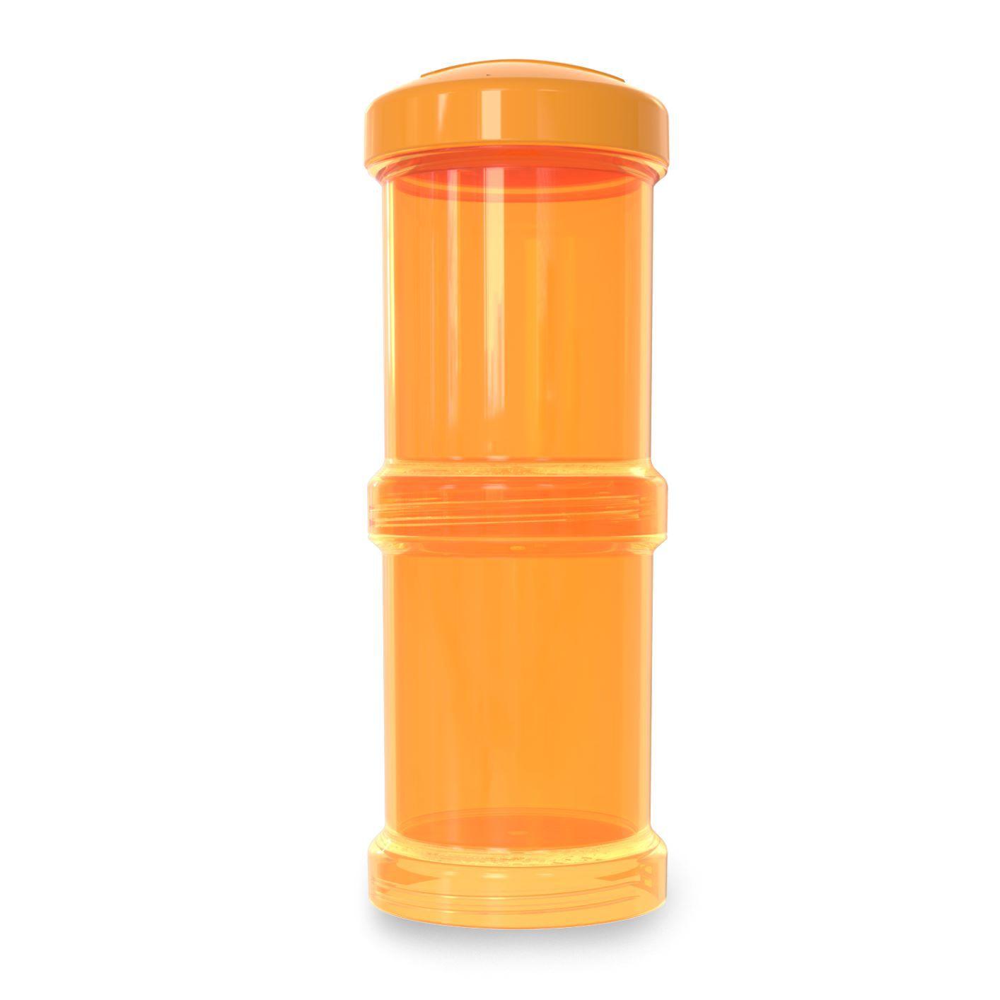 Pote para Leite em Pó - Container Duplo 100ml Laranja - Twistshake
