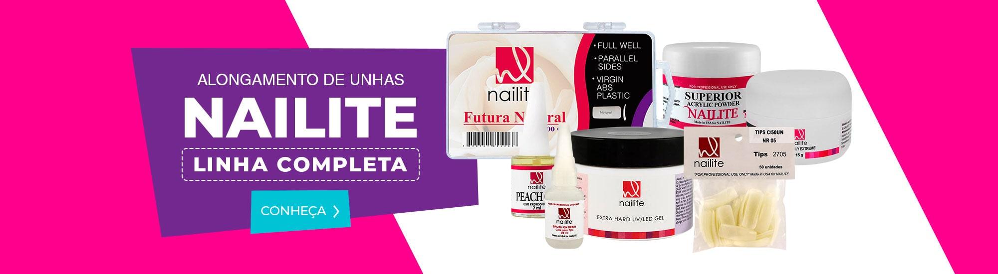 Produtos da marca Nailite com preços especiais