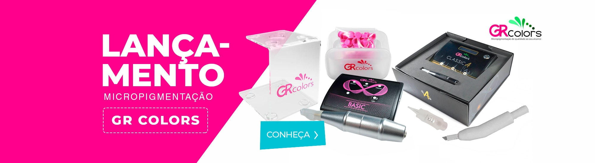 Lançamento produtos da marca GR Colors
