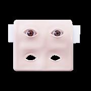 Placa c/ Par de Olhos Artificiais Flox