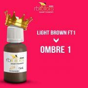 Rb Kollors Linha Miss Light Brown Ft1 = Ombre 1