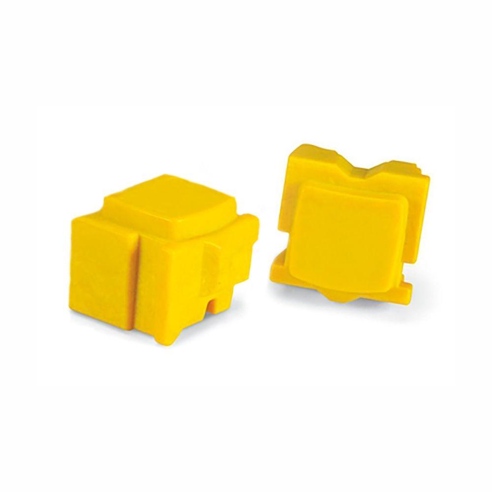 Bastão de Cera Compatível Colorqube 8570 Amarelo (Unidade)
