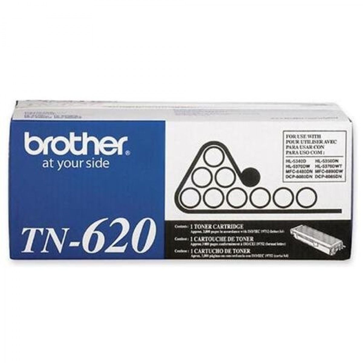 Cartucho de Toner Compatível Brother TN620/650