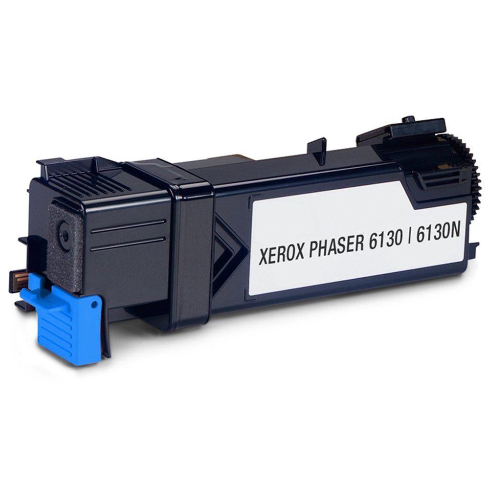 Cartucho de Toner Compatível Xerox Phaser 6130 Cyan