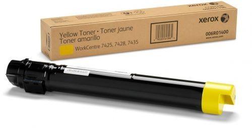 Cartucho de Toner Original Xerox WC7425/7428/7435 Amarelo