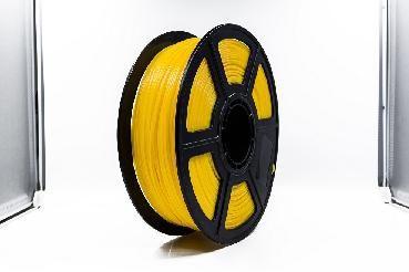 Filamento para impressora 3d pla amarelo 1kg