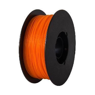 Filamento para impressora 3d pla laranja 1kg