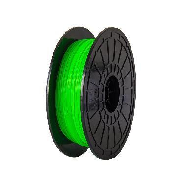 Filamento para impressora 3d pla verde 0.5kg
