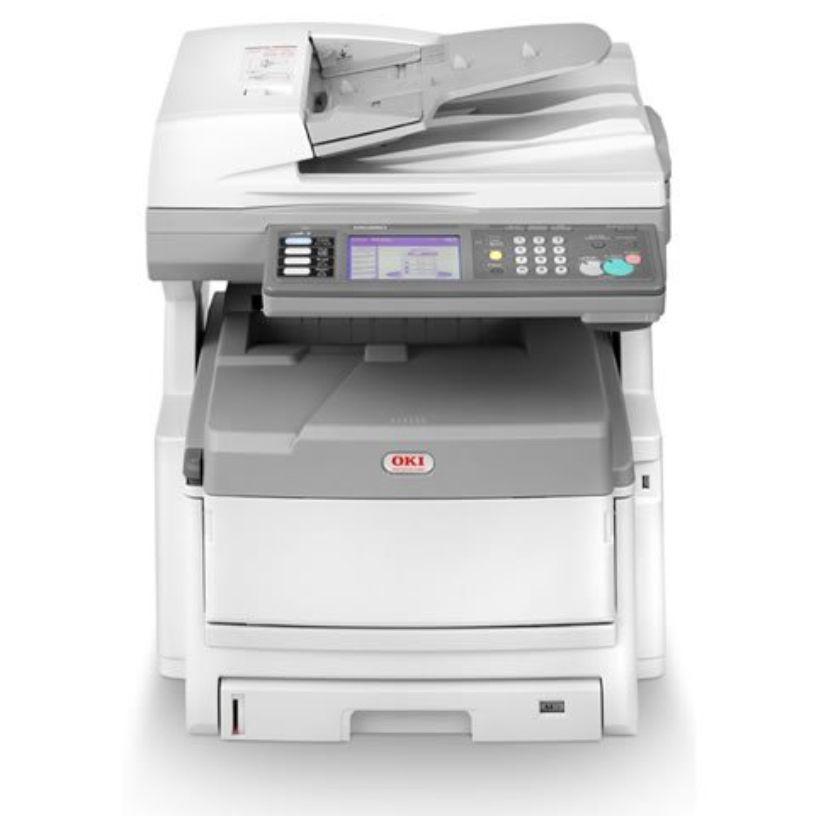Impressora a Laser Multifuncional Okidata MC860 Color Seminova