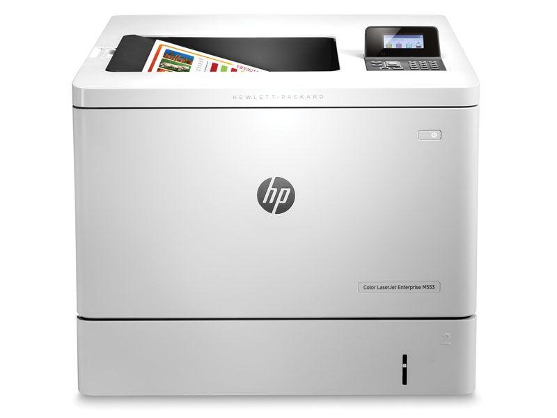 Impressora laserjet color hp b5l25a#696 enterprise m553dn rede/duplex 40ppm