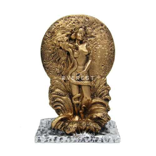 Afrodite A Deusa Do Amor Resina Decoração Estátua.