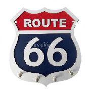 Porta Chave Route 66 Com Detalhes Em Alto Relevo - Lindo