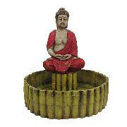 Fonte De Água Buda Tibetano Grande Ideal Para Jardim.