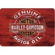 Placa Madeira Harley Davidson Vintage 28 Cm X 40 Cm - Retrô