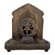 Altar Shiva Aparador Com Incensário E Castiçal Em Resina