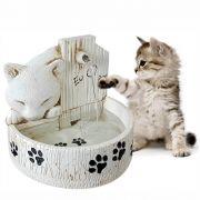 Bebedouro e fonte de água para gatos prime cor Branca 220V