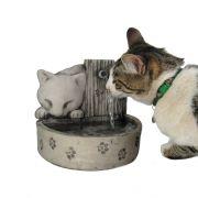 Bebedouro Para Gato Fonte Para Gatos Gatinhos + Brinde.