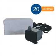Bomba para aquário e fontes de água submersa 220 l/h Hbo 300 - 20 unidades