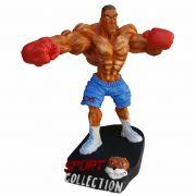 Boneco Boxeador Lutador boxe decoração estátua.
