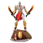 Boneco Kratos matando o Kraken