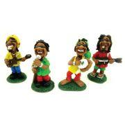 Bonecos Banda Bob Marley