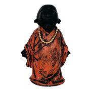 Buda Chinês Nirvana Zen Pequeno Estátua.
