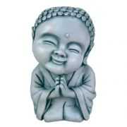 Buda Hindu menino Prece Estátua decoração.