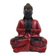 Buda Tibetano Gigante - Vermelho Rubi