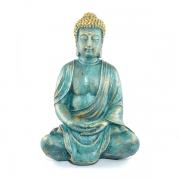 Buda Tibetano grande Verde envelhecido
