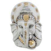 Cabeça Ganesha Estatueta Gesso