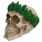Caveira Cannabis legalize Crânio decorativo