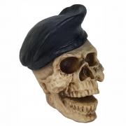 Caveira Crânio Soldado Policial exército Boina