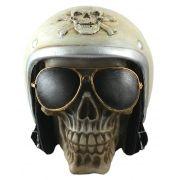 Cranio capacete Branco