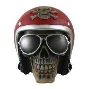 Cranio capacete Vermelho