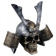 Crânio Caveira Capacete Samurai grande