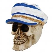 Cranio Caveira Comandante Capitão Marinheiro