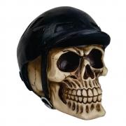 Crânio caveira decoração capacete Bike Ciclista