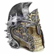 Crânio Caveira gladiador Capacete Armadura