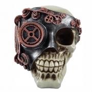 Crânio Caveira Monóculo decoração