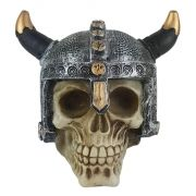 Crânio Caveira soldado Viking medieval capacete Grande.